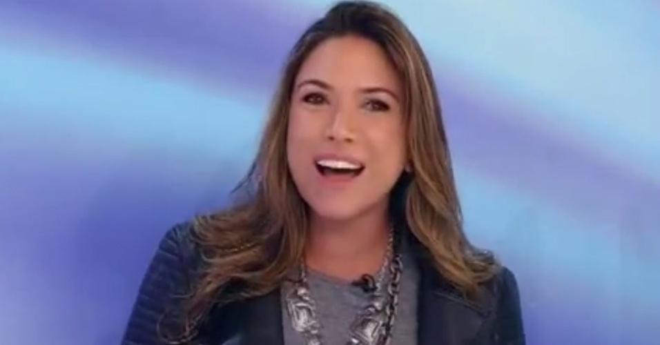 2.jun.2014 - Patrícia Abravanel diz que gostaria de ver Sabrina Sato, ex do seu namorado, longe do SBT