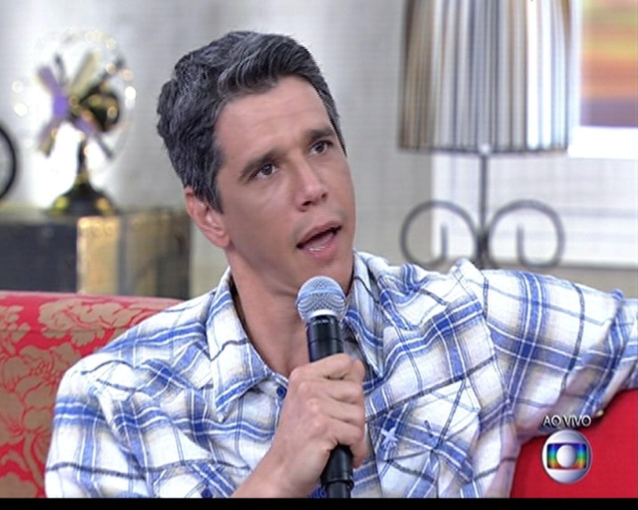 2.junh.2014 - Márcio Garcia diz no