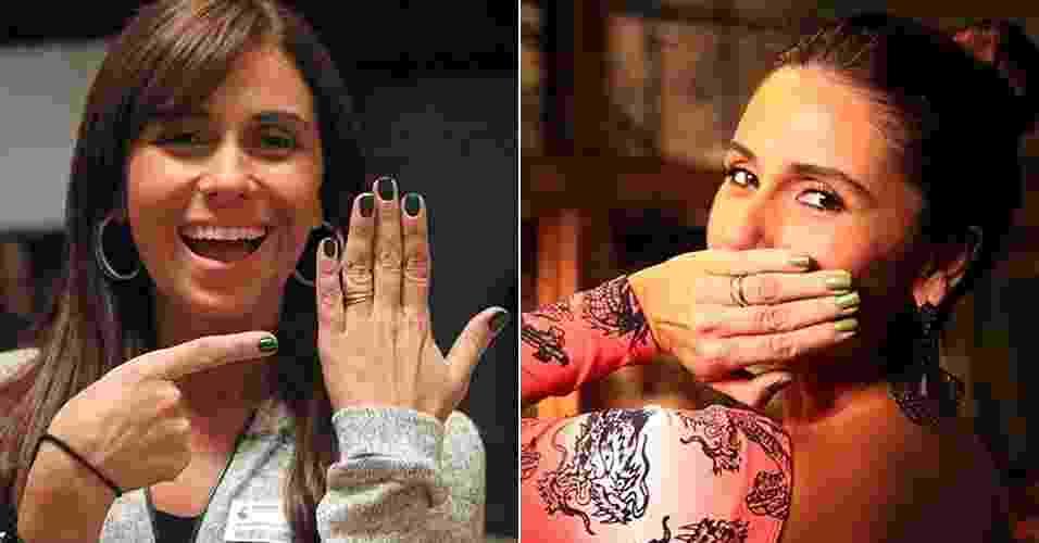 Montagem/UOL/Carol Caminha/ TV Globo
