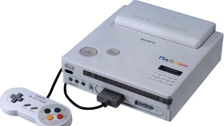 Um dos primeiros protótipos do PlayStation ainda tinha entrada para cartuchos de SNES