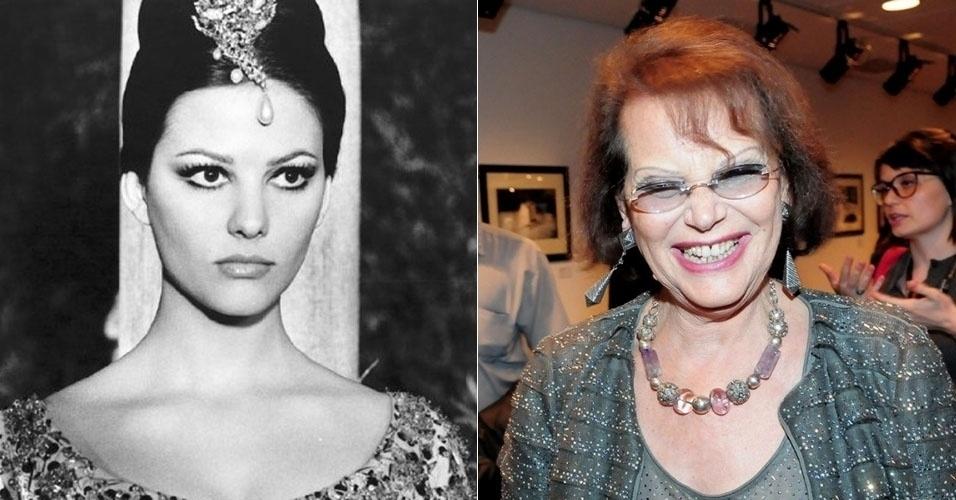 """Claudia Cardinale encantou os espectadores de """"A Pantera Cor-de-Rosa"""", de 1963, com sua beleza. Ela esteve no Brasil em 2012, aos 74 anos, para a Mostra de Cinema Internacional de São Paulo"""