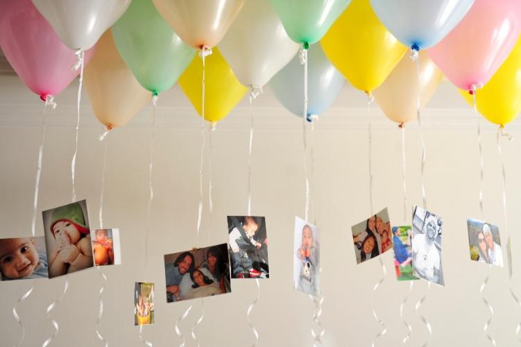 suportes simples, é possível personalizar a decoração da festa de