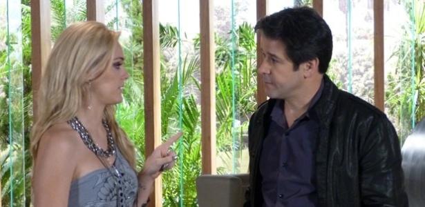 """Em """"Geração Brasil"""", Megan pede a Jonas para não premiar Manu em concurso"""