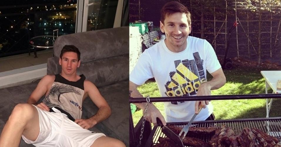 Messi, 26 anos, é um dos baixinhos preferidos da torcida feminina da seleção argentina