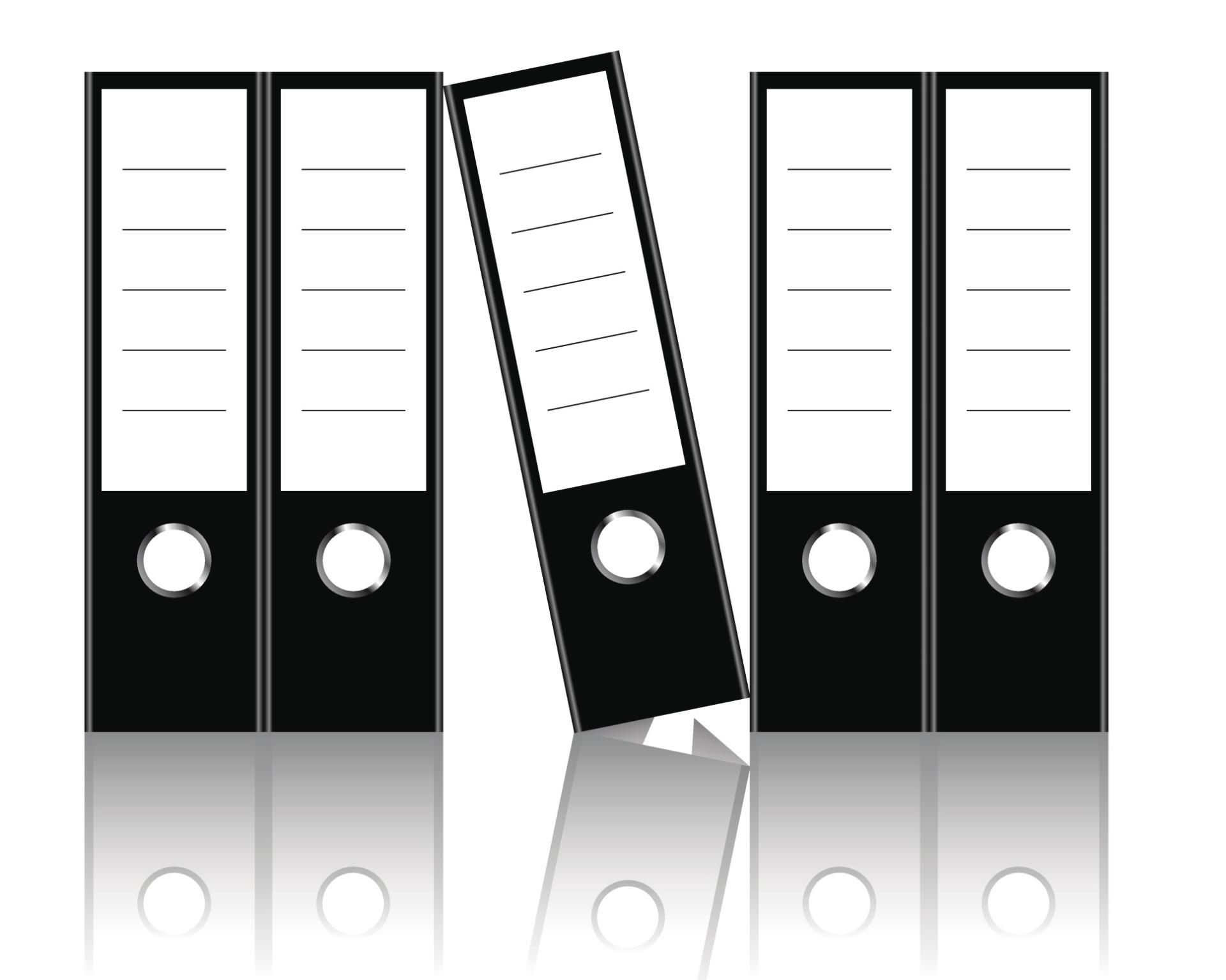 Pastas Leitz - Foi em 1896 que o designer Louis Leitz apresentou ao mundo um sistema de arquivos com presilhas em forma de alavancas que revolucionou a forma de se armazenar documentos. Os fichários possuem orifícios que facilitam o acesso, tem tamanho padrão e locais para a identificação do conteúdo nas lombadas