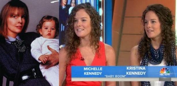 """As irmãs Kristina e Michelle Kennedy, que atuaram em """"Presente de Grego"""""""