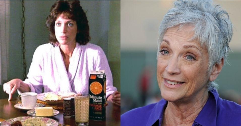 """Randee Heller - Lucille - Já conhecida atriz de novelas na época de """"Karatê kid"""", Randee Heller teria uma longa carreira em dezenas de séries e continua na ativa hoje aos 67 anos. Mais recentemente, ela é lembrada como a secretária de Don Draper em """"Mad Men"""""""