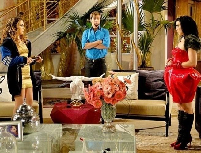 A casa da personagem Chayene (Cláudia Abreu), uma famosa cantora piauiense de eletroforró, da novela