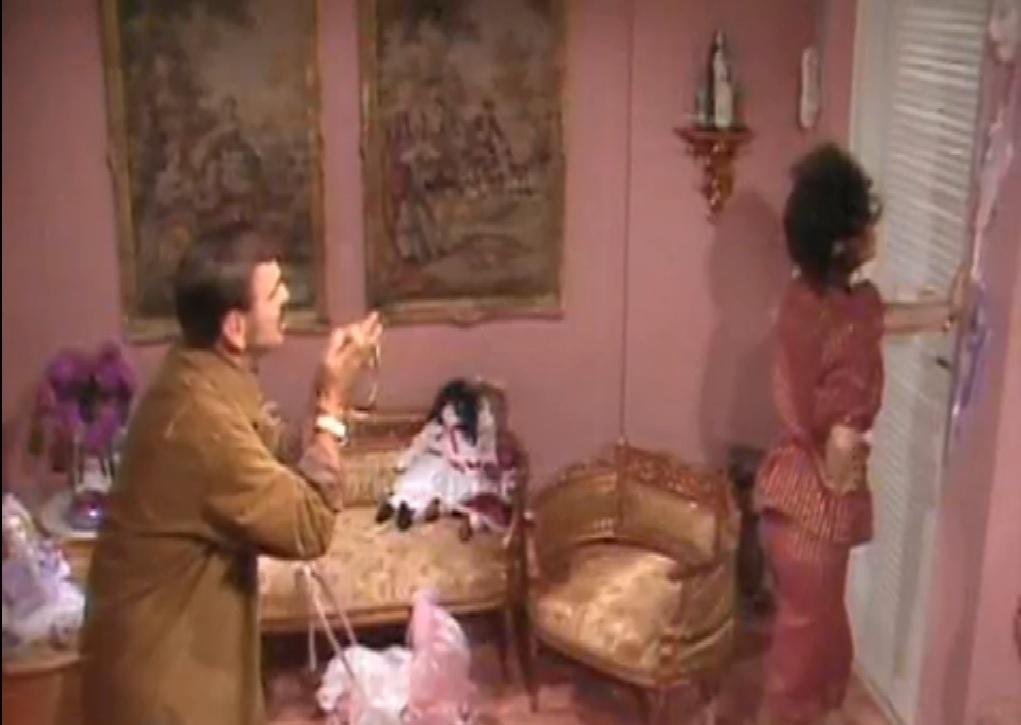 O quarto rosa da viúva Porcina (Regina Duarte), na novela