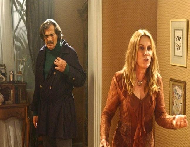 Os ambientes da casa da personagem Nazaré Tedesco (Renata Sorrah), grande vilã da novela