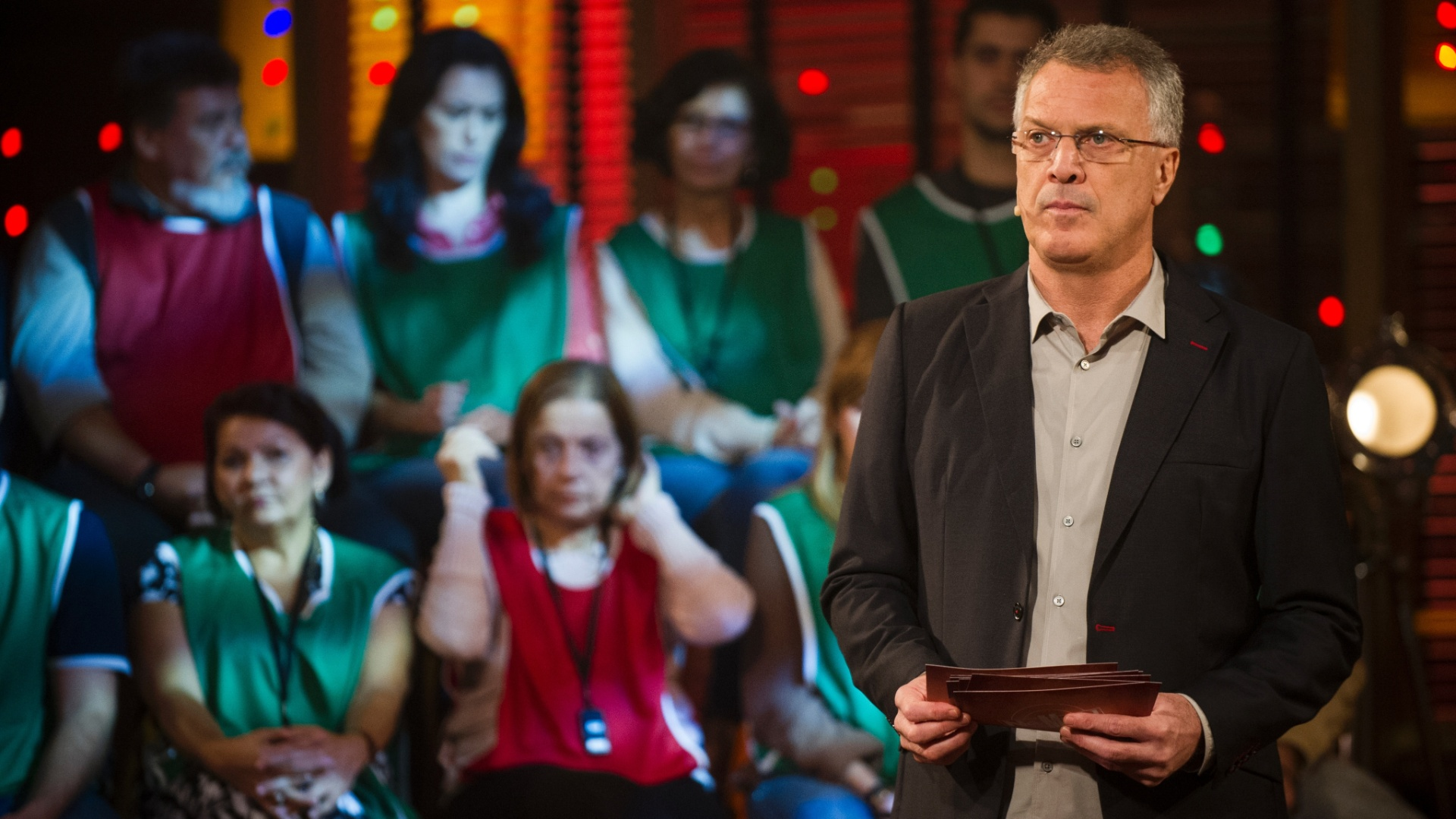 Pedro Bial durante a segunda temporada do