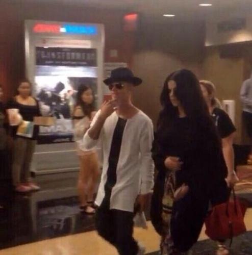Foto de Justin Bieber e Selena Gomes juntos