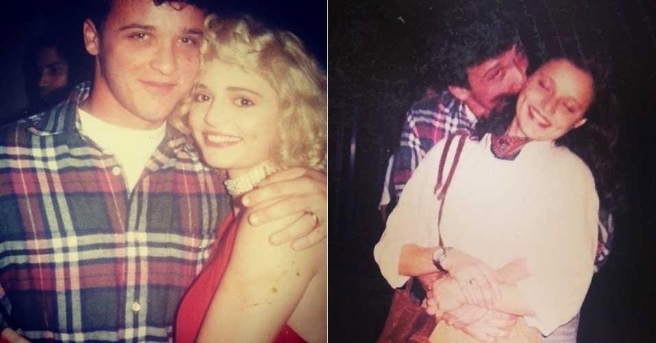 26.jun.2014 - Rita Guedes compartilhou fotos antigas, de 20 anos atrás, que recebeu de um fã