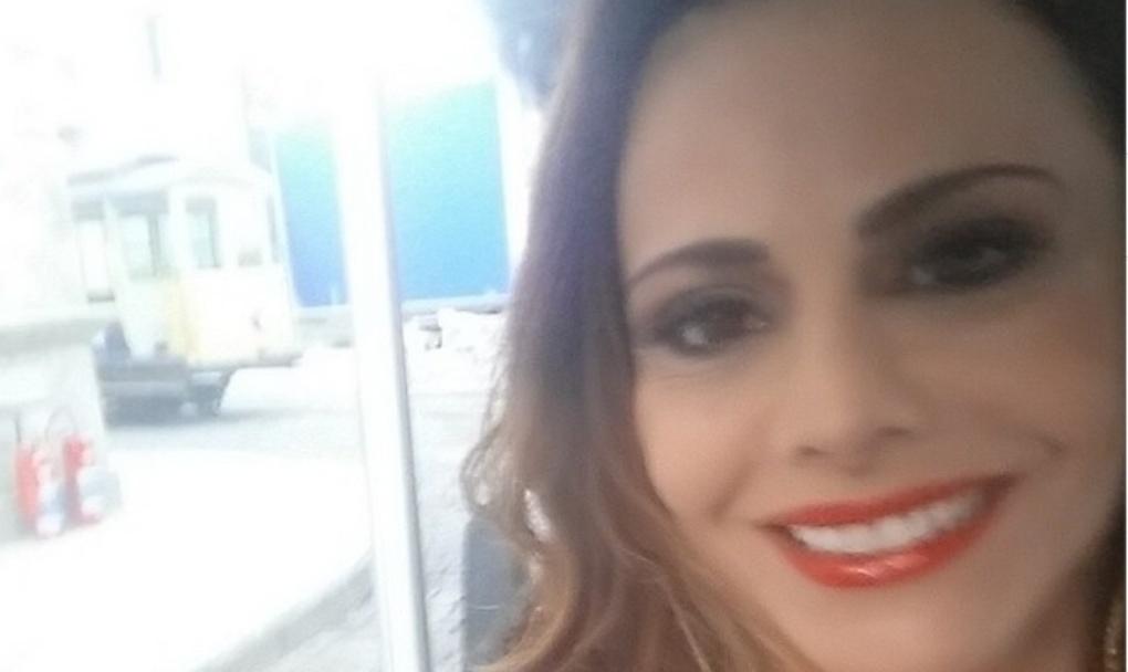 27.jun.2014 - Viviane Araujo divulgou foto caracterizada como sua personagem na novala