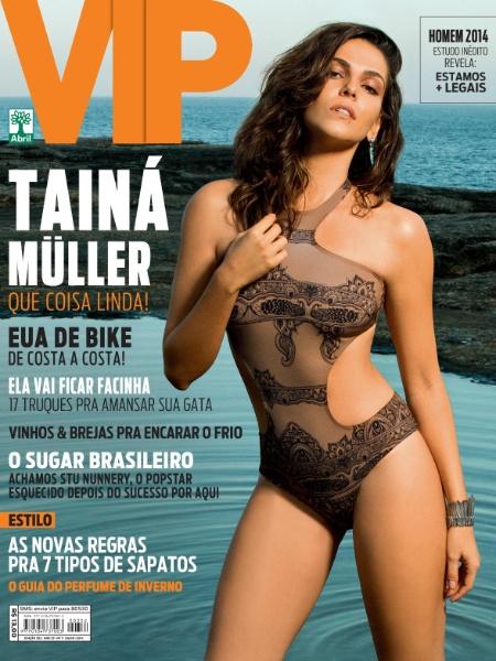 """Tainá Müller é capa da edição de julho da revista """"VIP"""""""