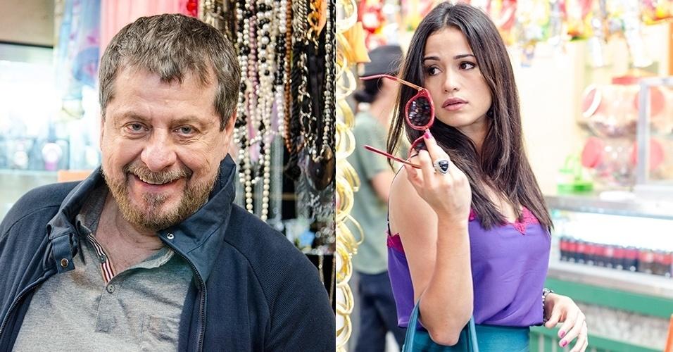 30.jun.2014 - Tuane (Nanda Costa) se casará com Reginaldo (Flávio Galvão), muito rico e bem mais velho do que ela, e reaparecerá para pedir a guarda do filho