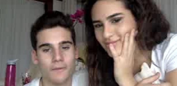 1.jul.2014- Ao lado do namorado Nicolas Prattes, Lívian Aragão conta que quer voltar a fazer novelas