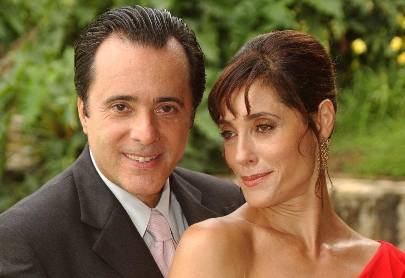 Helena (Christiane Torloni) e Téo (Tony Ramos) em