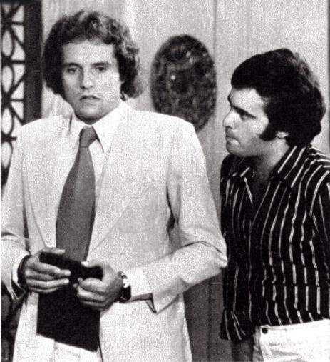 Jean (Denis Carvalho) e Luciano (Tony Ramos) em