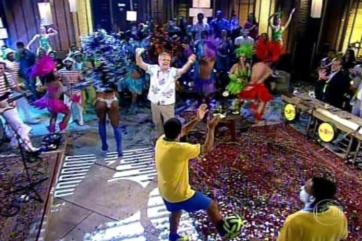 3.jul.2014 - Pedro Bial estreia a terceira temporada do