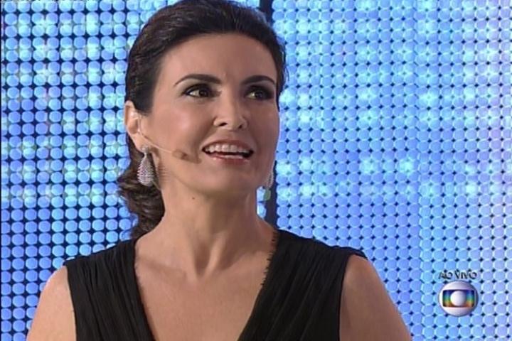 7.jul.2014 - Fátima Bernardes comemora 2 anos de seu