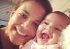 Nívea Stelmann posta foto da filha recém-nascida sorrindo - Reprodução/Instaram/