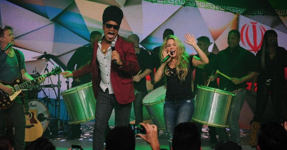 Shakira cantou