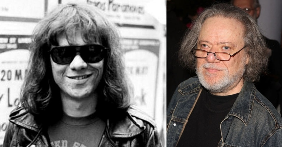 O ex-baterista da banda Ramones, Tommy Ramone