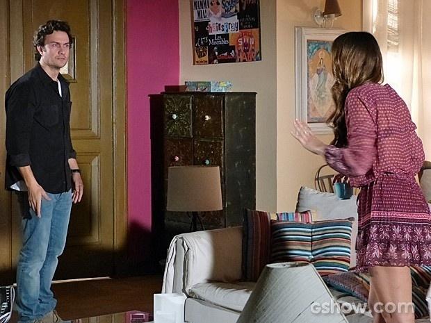 Laerte vai levar um tiro no casamento com Luiza no último capítulo