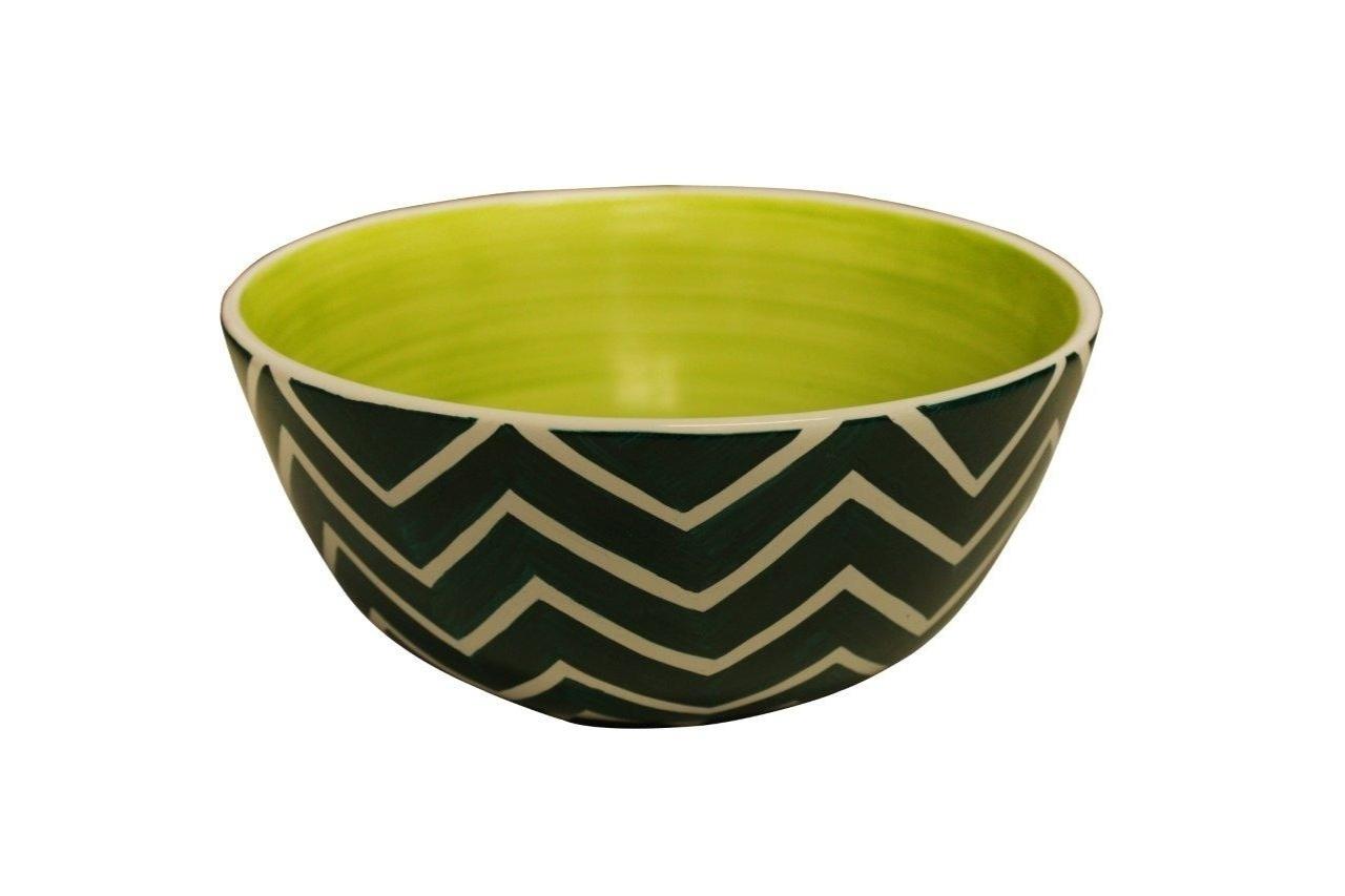 O bowl Ziggy, feito de cerâmica está à venda na LVA Home (www.lvahome.com.br) | Para outras informações, consulte o fornecedor