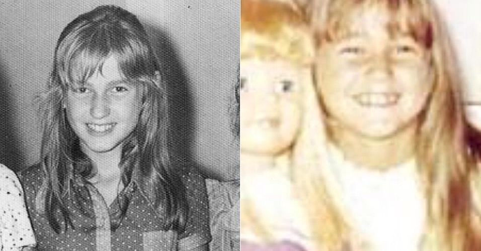 17.jul.2014 - Xuxa postou fotos de quando era criança e chamou atenção dos fãs por sua semelhança com a filha Sasha.