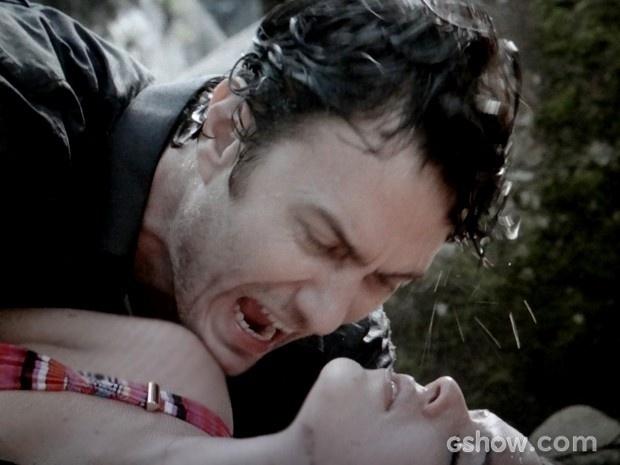Laerte grita por Luiza após salvá-la