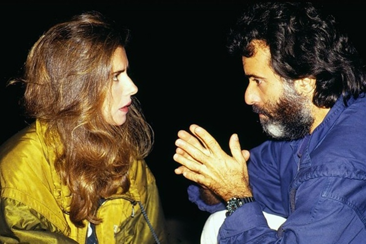 Maitê Proença e Tony Ramos em cena da novela