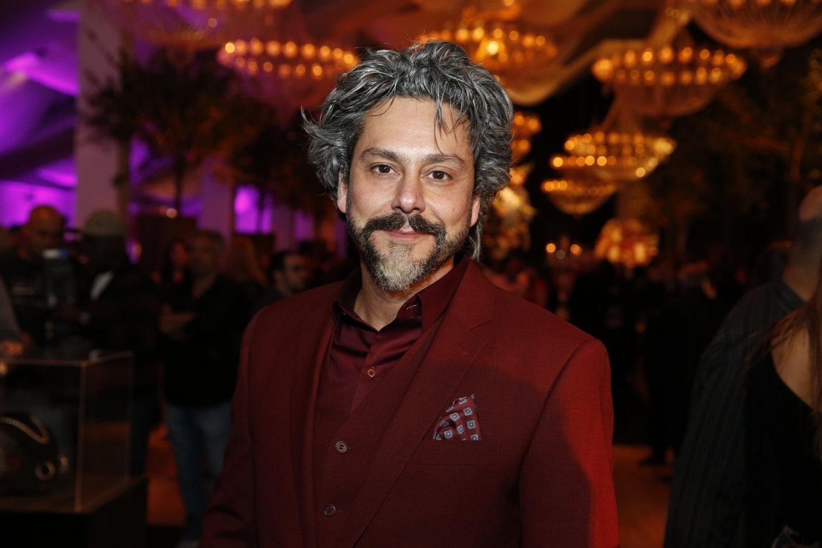 19.jul.2014 - Alexandre Nero prestigiou a festa de lançamento da novela