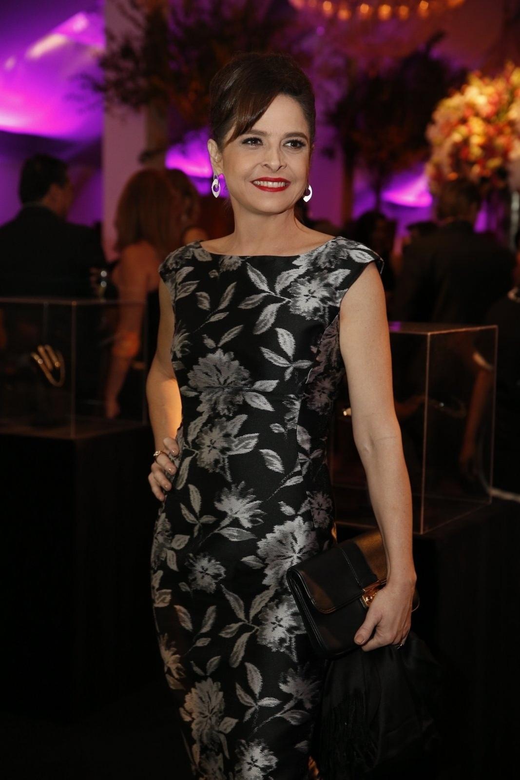 19.jul.2014 - Drica Moraes prestigiou a festa de lançamento da novela