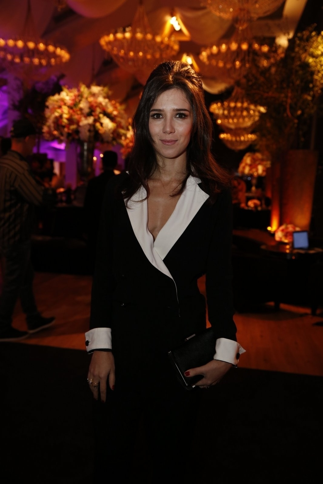 19.jul.2014 - Marjorie Estiano prestigiou a festa de lançamento da novela
