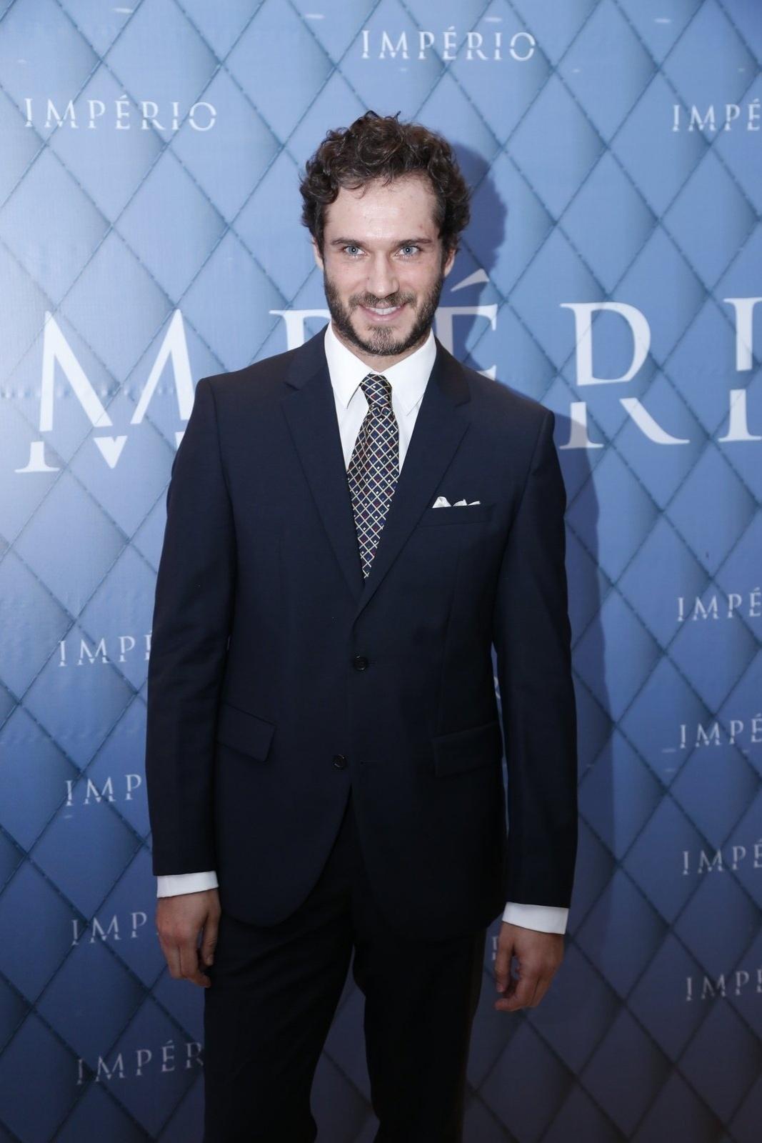 19.jul.2014 - Paulo Rocha prestigiou a festa de lançamento da novela