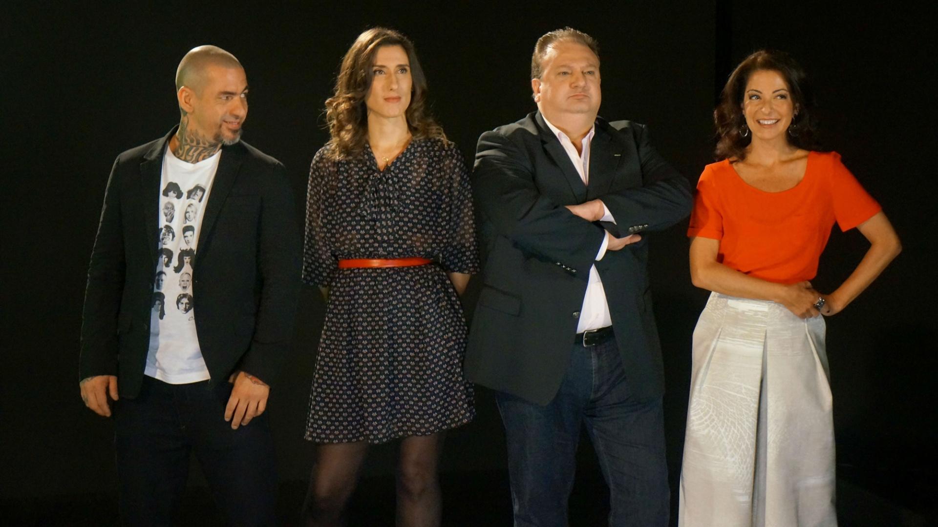Ana Paula Padrão e os jurados do