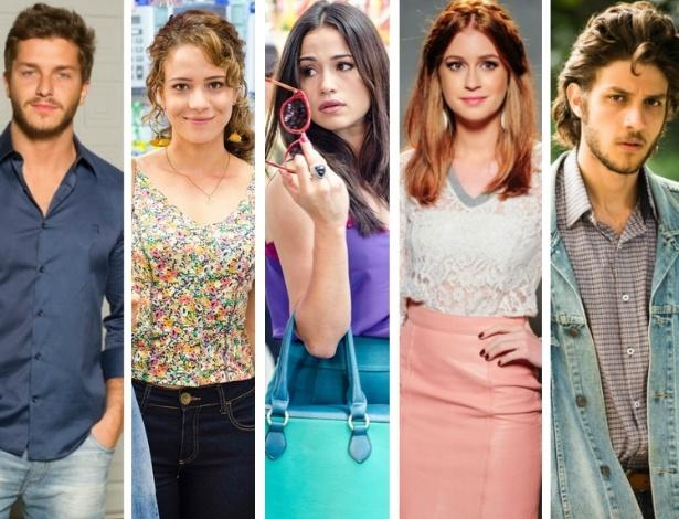 Personagens da novela