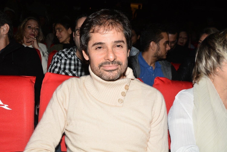 21.jul.2014 - Sergio Maciel, que foi namorado de Cazuza, prestigiou a sessão especial do musical