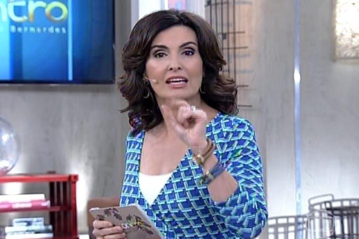Fátima Bernardes diz no