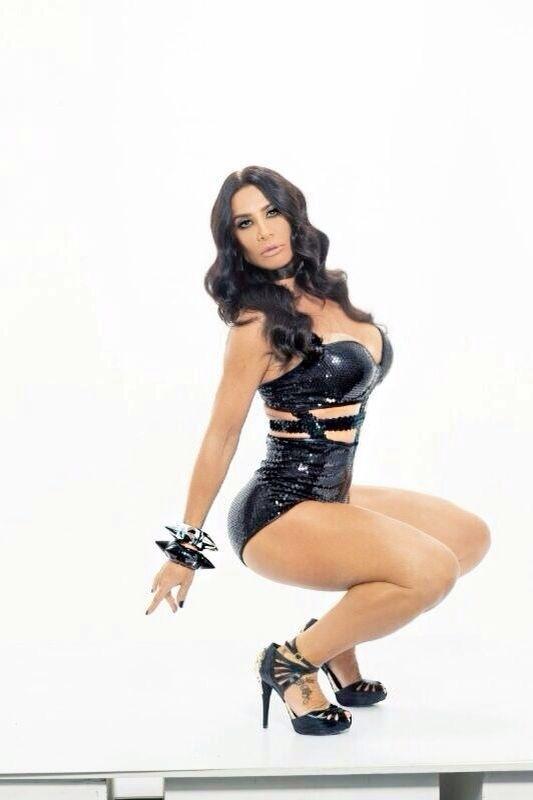 Scheila Carvalho, em foto de divulgação do projeto