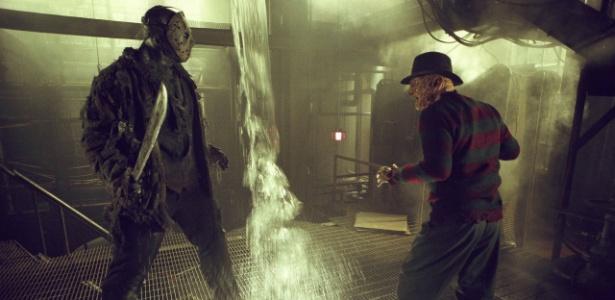 "Cena do filme americano ""Freddy vs. Jason"", dirigido por Ronny Yu"