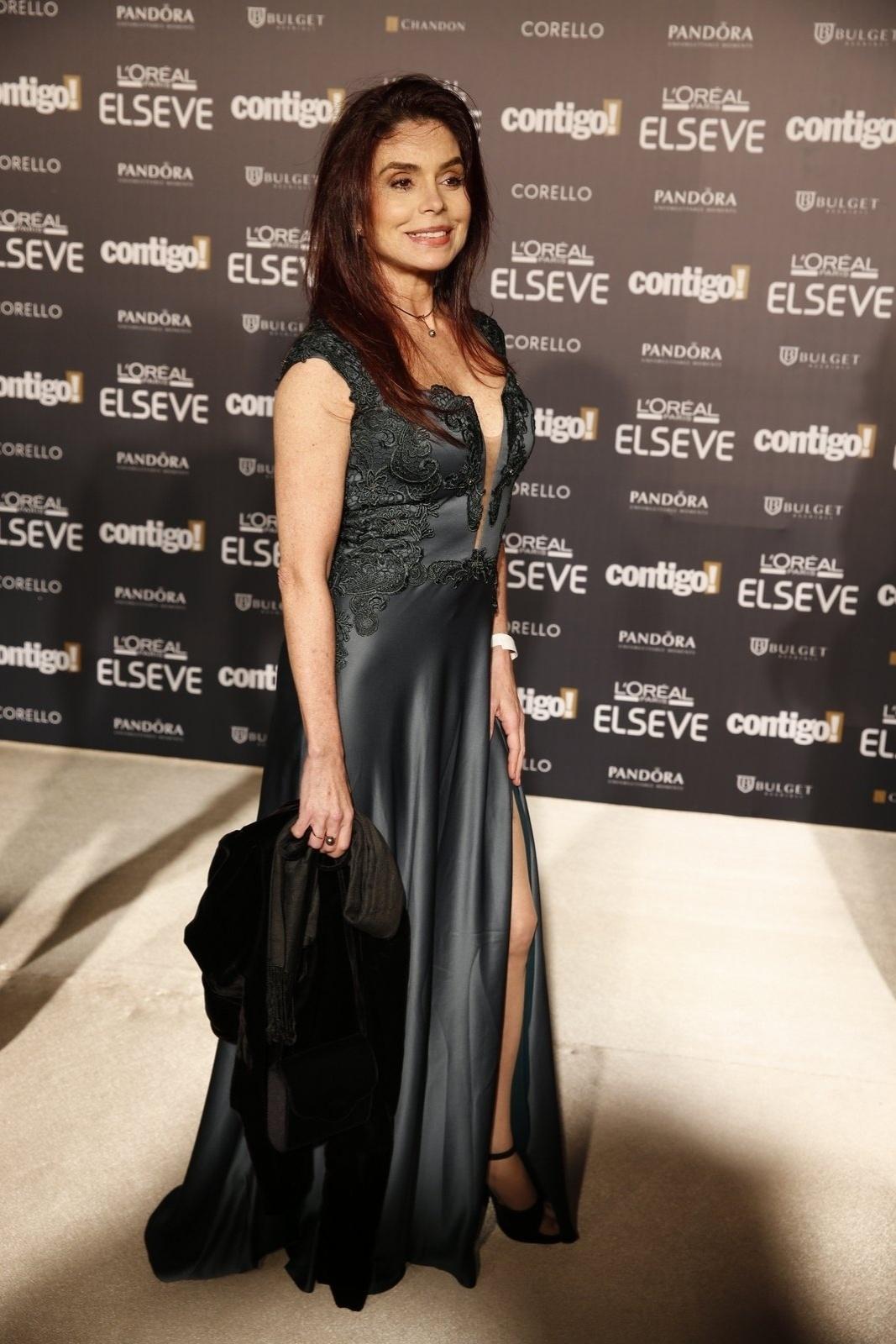 28.jul.2014 - A atriz Françoise Forton prestigou a 16ª edição do Prêmio Contigo! de TV, realizado no hotel Copacabana Palace, no Rio