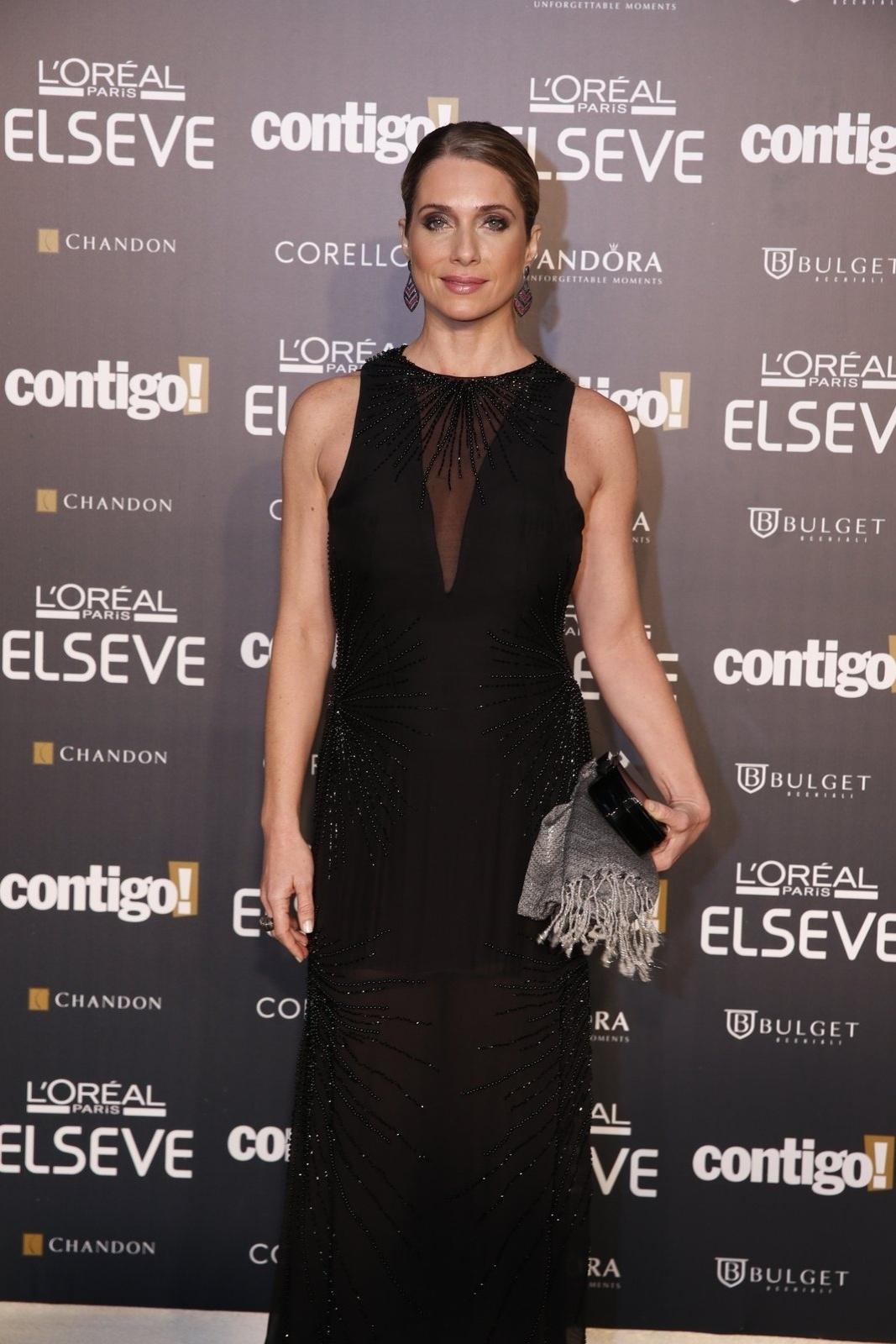28.jul.2014 - A atriz Letícia Spiller prestigou a 16ª edição do Prêmio Contigo! de TV, realizado no hotel Copacabana Palace, no Rio
