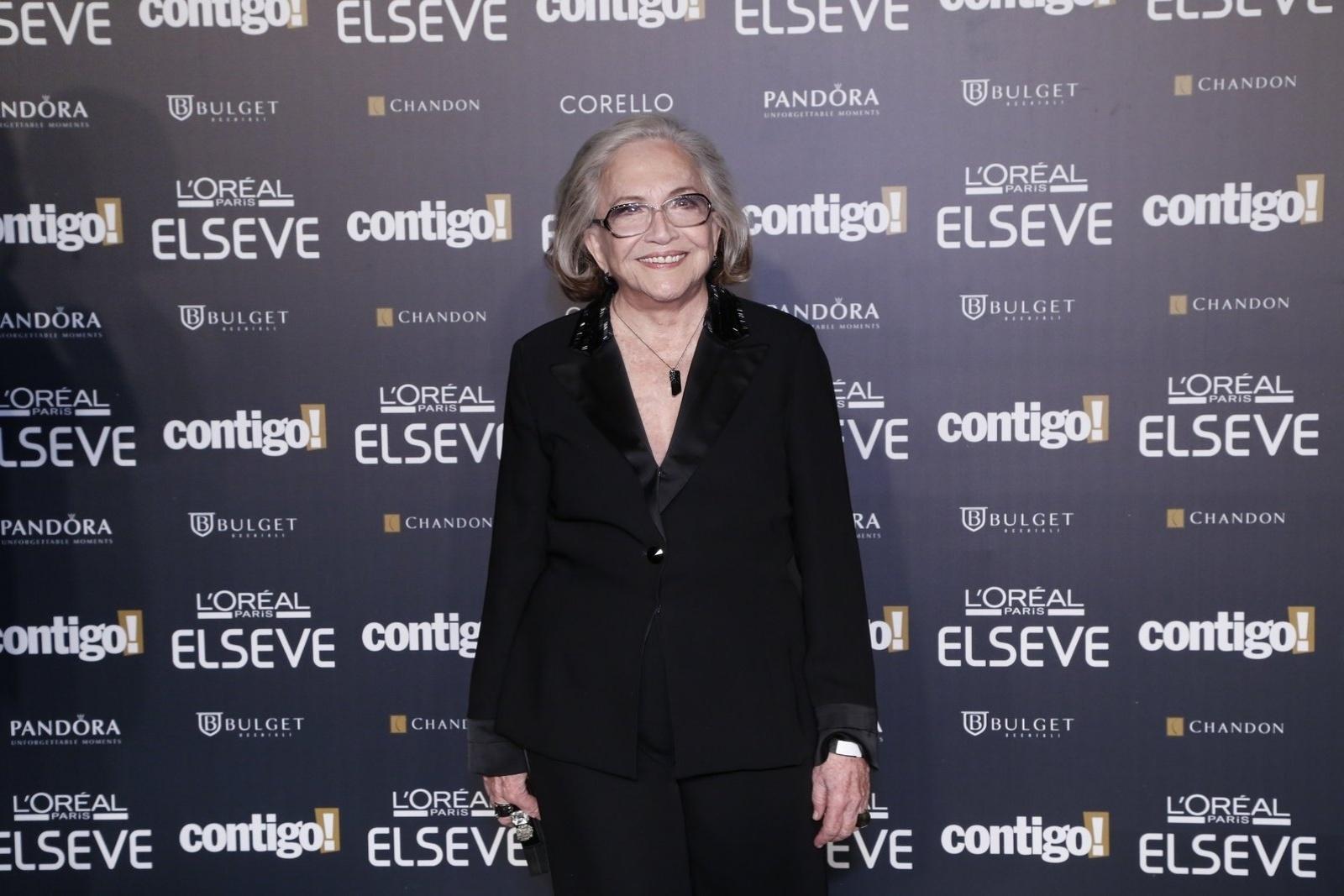 28.jul.2014 - A atriz Nathália Timberg prestigou a 16ª edição do Prêmio Contigo! de TV, realizado no hotel Copacabana Palace, no Rio