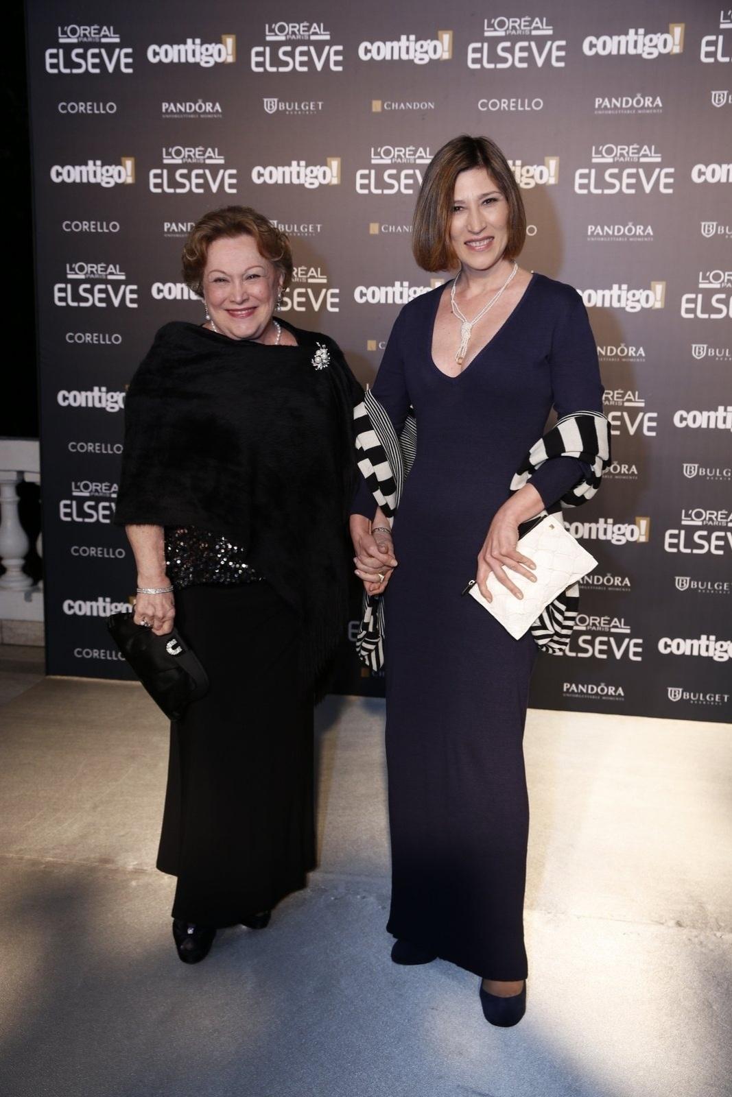 28.jul.2014 - As atrizes Nicette Bruno e Beth Goulart prestigiaram a 16ª edição do Prêmio Contigo! de TV, realizado no hotel Copacabana Palace, no Rio
