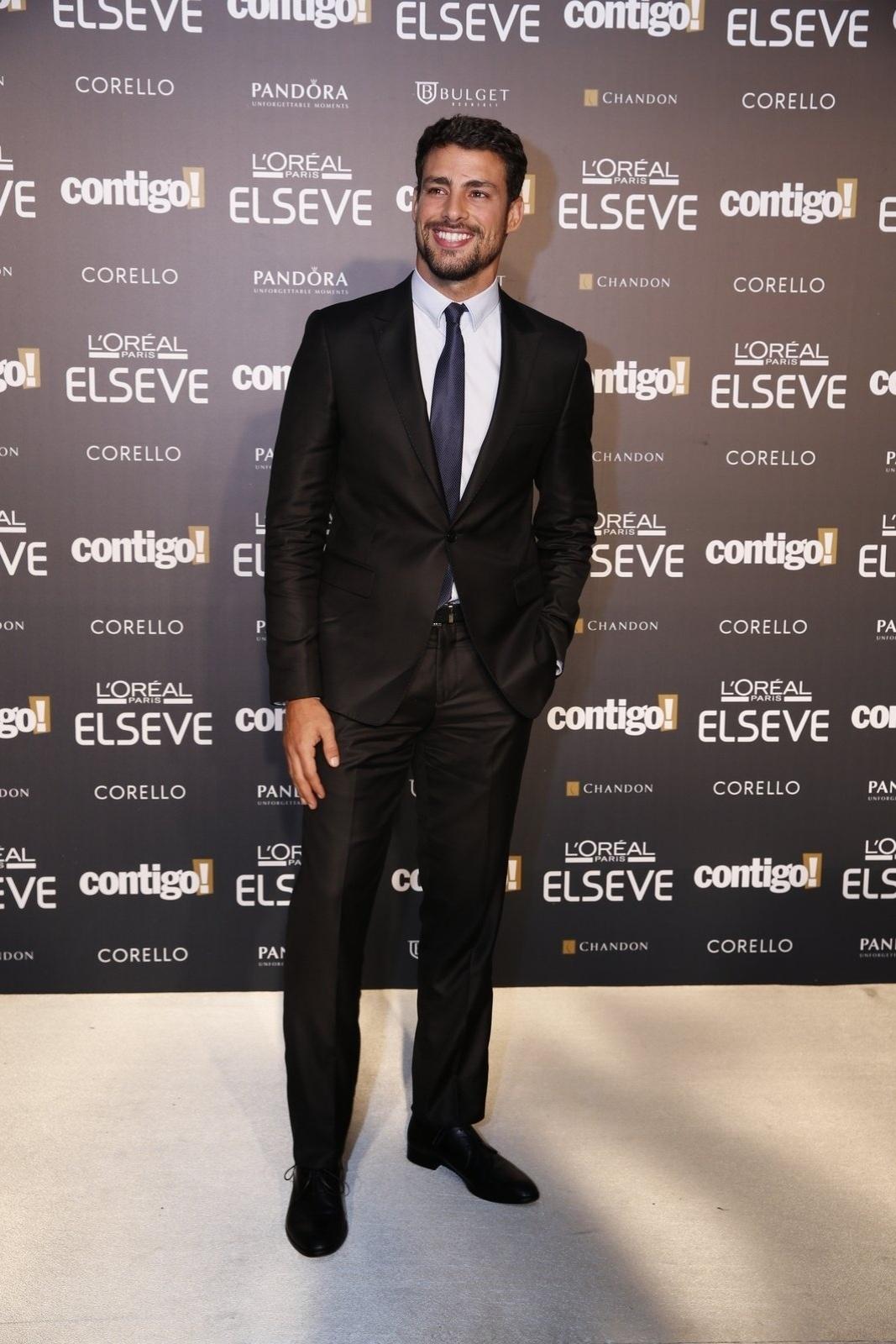 28.jul.2014 - O ator Cauã Reymond prestigou a 16ª edição do Prêmio Contigo! de TV, realizado no hotel Copacabana Palace, no Rio. Ele concorreu ao troféu de melhor ator de minissérie por