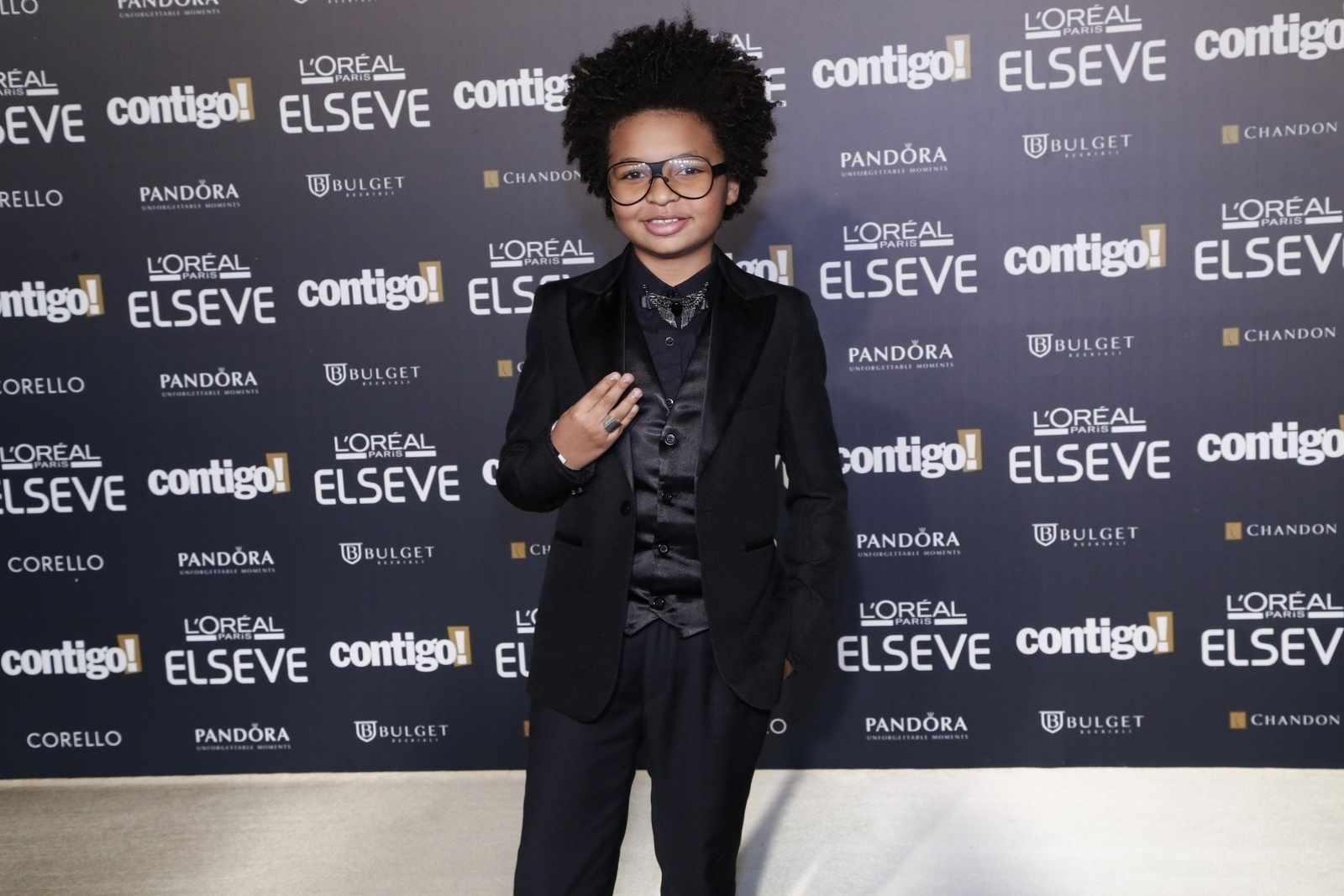 28.jul.2014 - O ator JP Rufino prestigou a 16ª edição do Prêmio Contigo! de TV, realizado no hotel Copacabana Palace, no Rio. Ele concorreu ao troféu de melhor ator infantil por