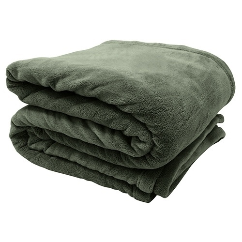 O cobertor de microfibra de poliéster, na cor verde, é vendido na Zelo (www.zelo.com.br)  I Outras informações podem ser obtidas com o fornecedor